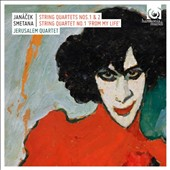 Janacek: String Quartets Nos. 1 & 2; Smetana: String Quartet No. 1 'From My Life' / Jerusalem Quartet