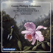 Georg Philipp Telemann: The Grand Concertos for Mixed Instruments, Vol. 1 / La Stagione Frqankfurt, Schneider
