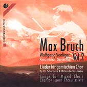 Bruch: Lieder for Mixed Choir Vol 2 / Seeliger, et al