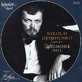 Nikolai Demidenko Live at Wigmore Hall