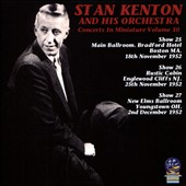 Stan Kenton/Stan Kenton & His Orchestra: Concerts in Miniature, Vol. 10