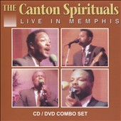 The Canton Spirituals: Live in Memphis, Vol. 1 [CD/DVD]