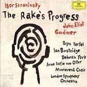 Stravinsky: The Rake's Progress /Gardiner, Bostridge, Terfel