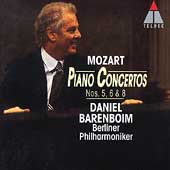 Mozart: Piano Concertos no 5, 6 and 8 / Barenboim, et al