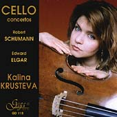 Elgar, Schumann: Cello Concertos / Krusteva, Natchev, et al