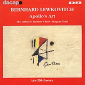 Late 20th Century - Lewkowitch: Apollo's Art / Dahl, et al
