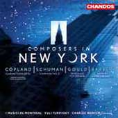 Composers in New York - Copland, Schuman, Gould, Barber, etc
