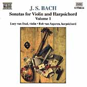 Bach: Sonatas for Violin & Harpsichord Vol 1 / Dael, Asperen