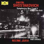 Shostakovich: Symphonies no 2 & 3, The Bolt Suite / Järvi