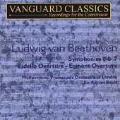Masterpieces - Beethoven: Symphonies, Overtures / Boult