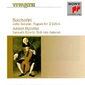 Boccherini: Cello Sonatas, etc / Bylsma, Slowik, van Asperen