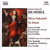 Hummel: Missa Solemnis, etc / Grodd, et al