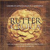 Rutter: Gloria / Choir of King's College Cambridge, et al