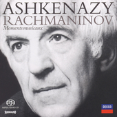 Rachmaninov: Moments musicaux, etc / Vladimir Ashkenazy