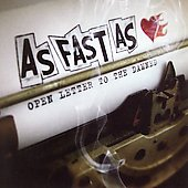 As Fast As: Open Letter to the Damned [PA]