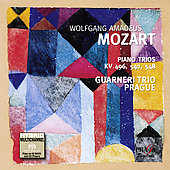Mozart: Piano Trios K 496, 542 & 548 / Guarneri Trio Prague