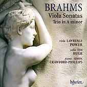 Brahms: Viola Sonatas, etc / Power, Crawford-Phillips, Hugh