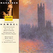 H&auml;ndel: Water Music, Music for the Royal Fireworks /Marriner
