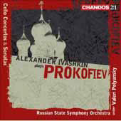 Prokofiev: Cello Concerto in E minor Op. 58, Cello Sonata Op. 119, etc / Ivashkin, Polyanskii, et al