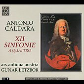 Antonio Caldara: XII Sinfonie a Quattro