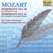 Classics - Mozart: Symphonies 40 & 41 / Mackerras, Prague CO