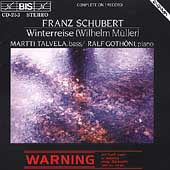 Schubert: Winterreise / Talvela, Gothoni
