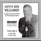 Sonny Boy Williamson I (John Lee Williamson): Complete Recorded Works, Vol. 4 (1941-1945)