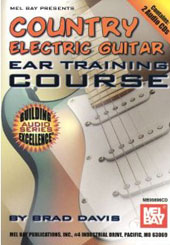 Brad Davis: Country Electric Guitar: Ear Training Course