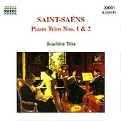 Saint-Sa&euml;ns: Piano Trios no 1 & 2 / Joachim Trio