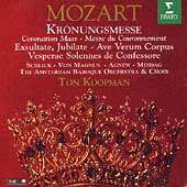 Mozart: Kr&ouml;nungsmesse, etc / Koopman, Schlick, Magnus, et al