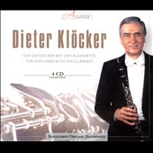 Explorer With the Clarinet - works by Hoffmeister, Schacht, Danzi, Lachner, Spohr, Mozart et al. / Dieter Kloecker, clarinet [4 CDs]