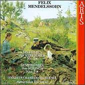 Mendelssohn: Symphonies for Strings Vol 2 / Duczmal, et al