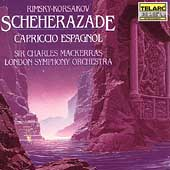 Rimsky-Korsakov: Scheherazade, etc / Mackerras, London SO