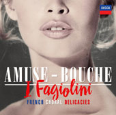 French choral music by Francis Poulenc, Erik Satie, Darius Milhaud, Maurice Ravel, Jean Francaix, Jean Yves, Daniel Lesur, Robert Hollingworth, Anna Markland / I Fagiolini, Robert Hollingworth