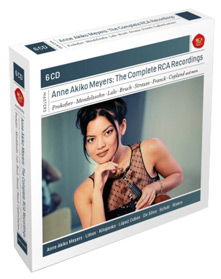 The Complete RCA Recordings - Works by Various Composers / Anne Akiko Meyers, violin; Philharmonia Orchestra, Andrew Litton