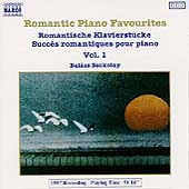 Romantic Piano Favourites Vol 1 / Balázs Szokolay