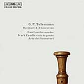 Telemann: Overture, 3 Concertos / Laurin, Arte deo Suonotari