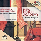 J. Stamitz, F.X. Richter: Early String Symphonies / Murphy