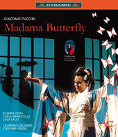Puccini: Madama Butterfly / Gilgore, Veda, Barricelli, Salsi [Blu-Ray]