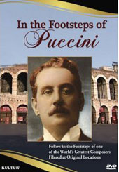 In The Footsteps of Puccini - Filmed at Original Locations [DVD]