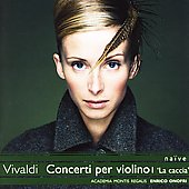 Vivaldi: Concerti per violino Vol 1 / Enrico Onofri, et al