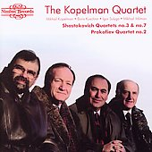 Shostakovich, Prokofiev: String Quartets / Kopelman Quartet