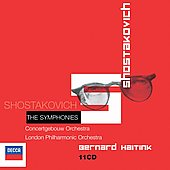Shostakovich: The Symphonies / Haitink, Concertgebouw, LPO