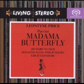 Puccini: Madama Butterfly / Leinsdorf, Price, Tucker, Elias