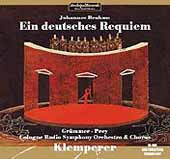 Brahms: Ein deutsches Requiem / Klemperer, Grummer, Prey