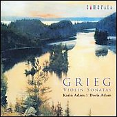 Grieg: Violin Sonatas / The Adam Sisters