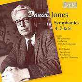 Jones: Symphonies No 4, 7, 8 / Groves, Thomson, et al
