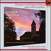 Romantic Czech Music - Smetana, Dvorak / Bouveresse, Peran