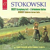 Bizet: Symphony in C major, etc;  Debussy: Children's Corner / Leopold Stokowski, et al