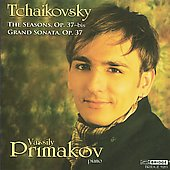 Tchaikovsky: The Seasons Op 37b, etc / Vassily Primakov